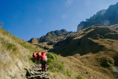 Inka Trail: niemals endender Aufstieg