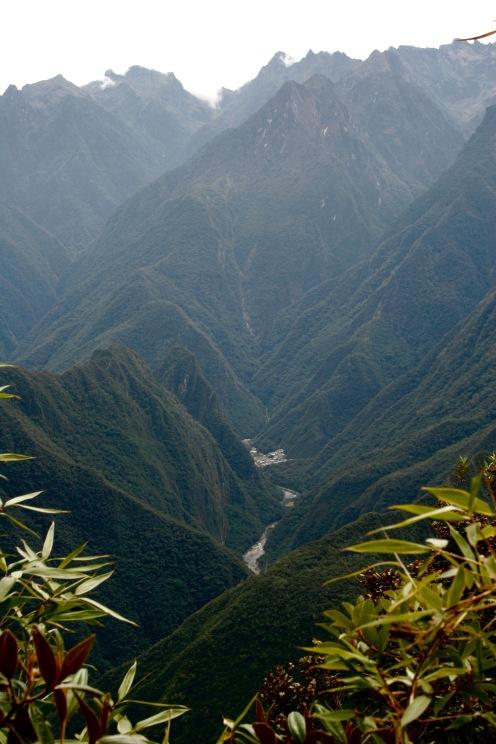 Inka Trail: tiefe Schluchten in den Anden