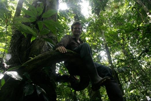 Klettereien im Dschungel Ecuadors