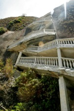 Aufstieg auf den El Peñol in Guatape