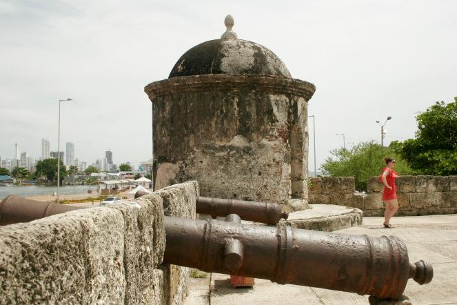 Stadtmauer von Cartagena