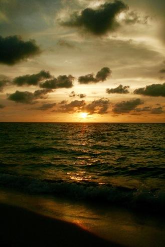 Playa Blanca mit tollem Sonnenuntergang