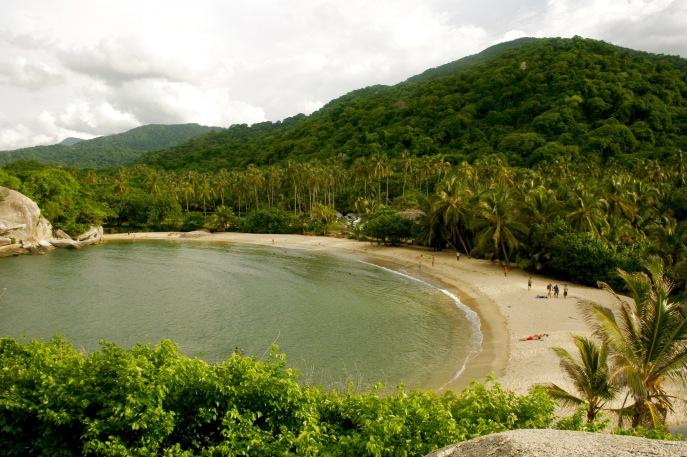 Tayrona Nationalpark: perfekter Strand