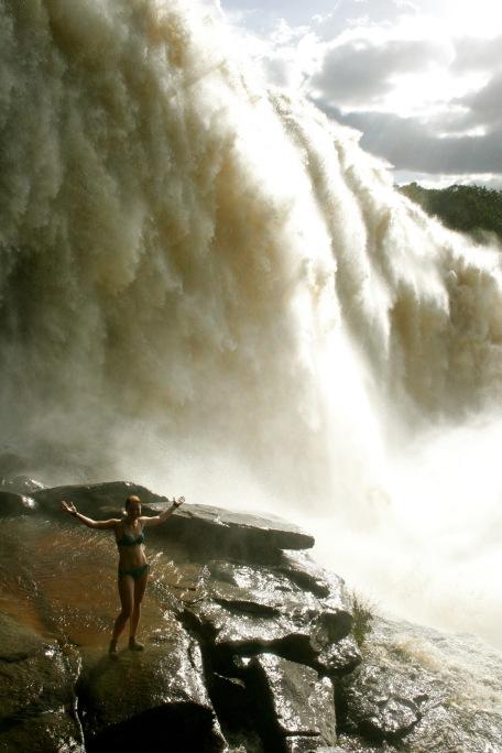 Canaima Nationalpark: laute Sapo Falls