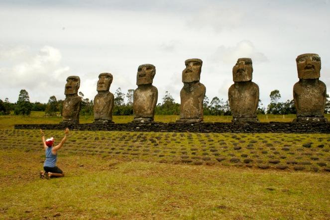 Moai – die kolossalen Steinstatuen Rapa Nuis
