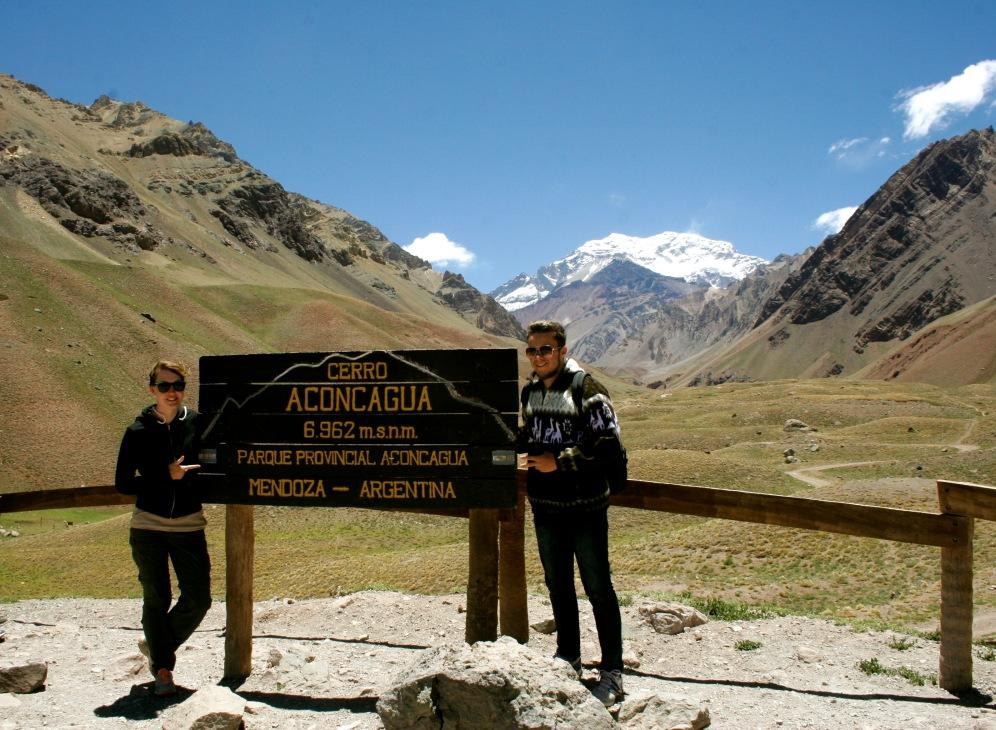 Der höchste Berg Südamerikas