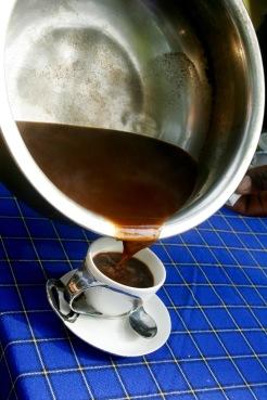 Mount Meru: selbst gemachter Kaffee