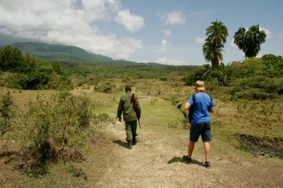 Arusha Nationalpark: Sogar zu Fuß unterwegs