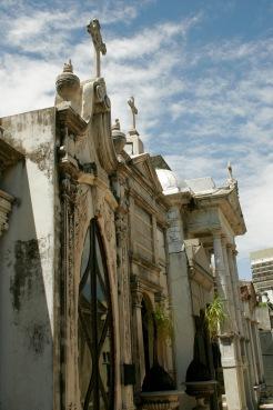 Friedhof La Recoleta: riesige Mausoleen