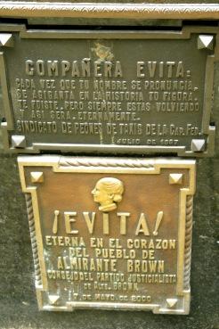 Friedhof La Recoleta: Grab der berühmten Evita
