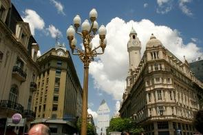 Die Straßen Buenos Aires