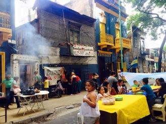 Die Straßen La Bocas