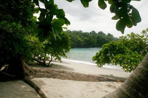 Strandabschnitt im Manuel Antonio Nationalpark