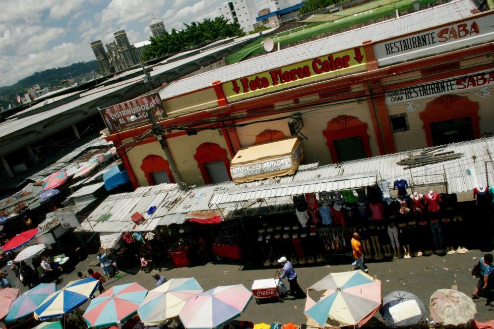 Wochenmarkt in San Salvador