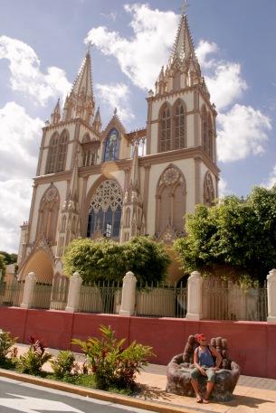 Vorort San Salvadors: Santa Tecla in El Salvador