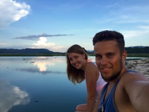 Gemeinsam am Lago Suchitlan