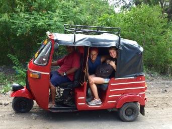 Tuktuk fahren auf Ometepe