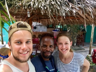 Mit unserem Gastgeber in Nungwi
