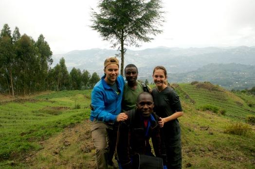 Gorilla Trekking mit Pablo und unserem Porter