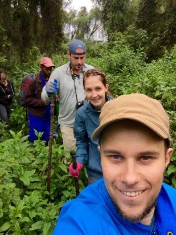 Gorilla Trekking in Ruanda
