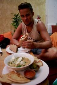 Mittagessen im Zoola in Antigua