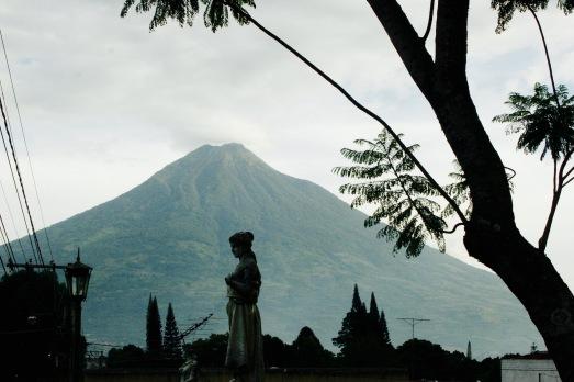 Vulkanlandschaft um Antigua