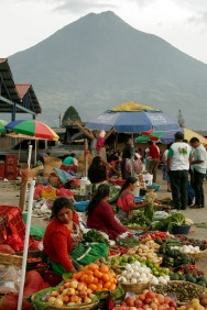 Markt La Merced in Antigua
