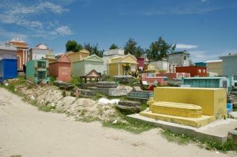 Chichicastenango: wunderbar bunter Friedhof
