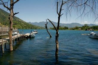 Am Lago Atitlan in Santiago