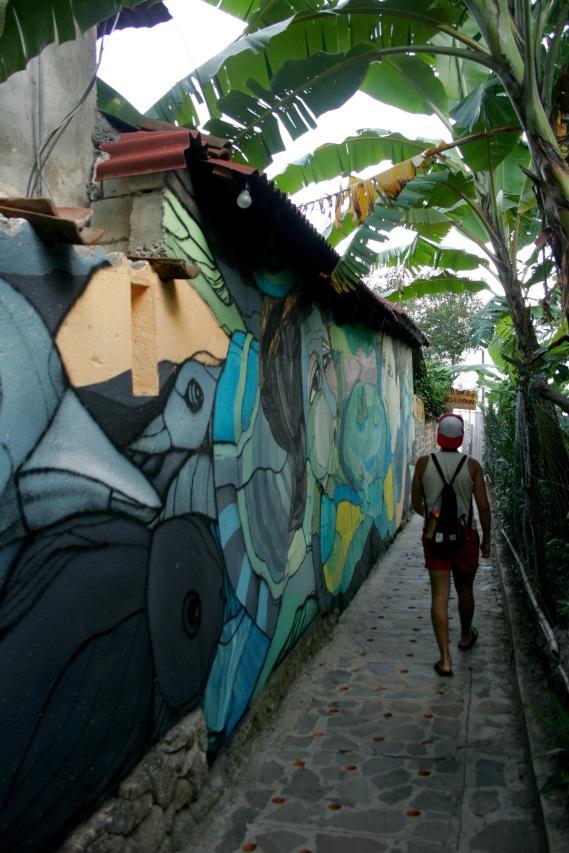 San Marcos am Lago Atitlan Street Art