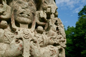 Copán Ruinen Relief