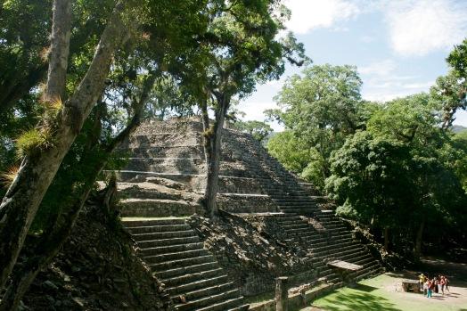 Majestätische Maya Copán Ruinen