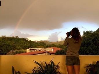 Regenbogen in Copan