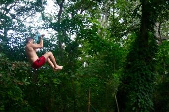 Tarzan auf Ometepe