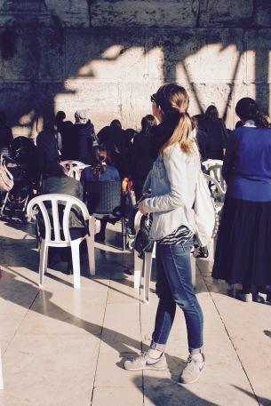Geballte Gefühle an der Klagemauer in Jerusalem