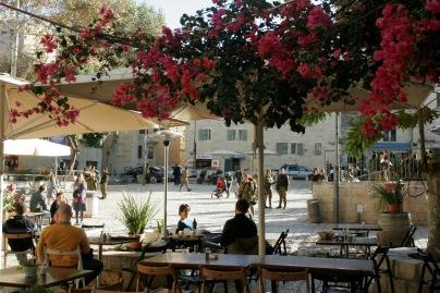 Wunderschöner Platz in Jerusalem