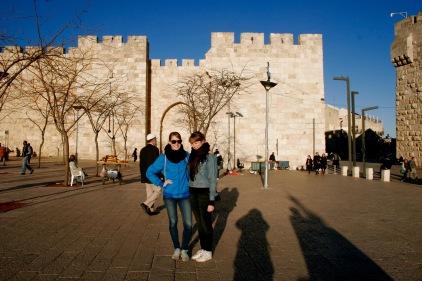 Stadtmauer in Jerusalem