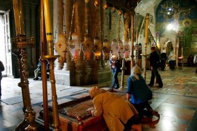Das Grab Jesus' in Jerusalem