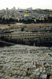 Ausblick vom Ölberg auf Jerusalem
