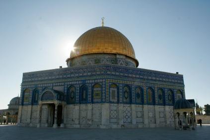 Beeindruckender Tempelberg in Jerusalem