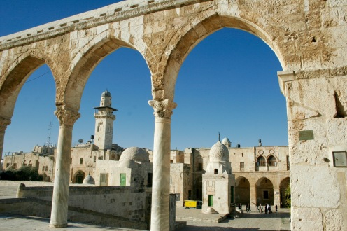 Blick vom Tempelberg über Jerusalem
