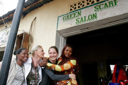 Friseurbesuch in Kigali