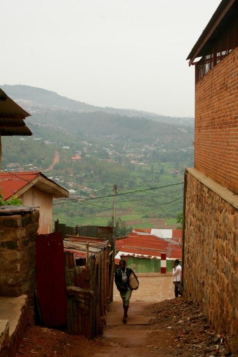Lehmwege in Kigali
