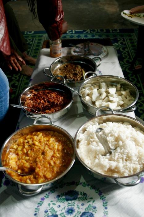 Wunderbar leckeres Essen in Kigali