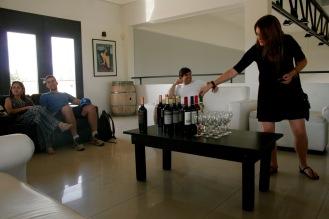 Weinverkostung in Mendoza