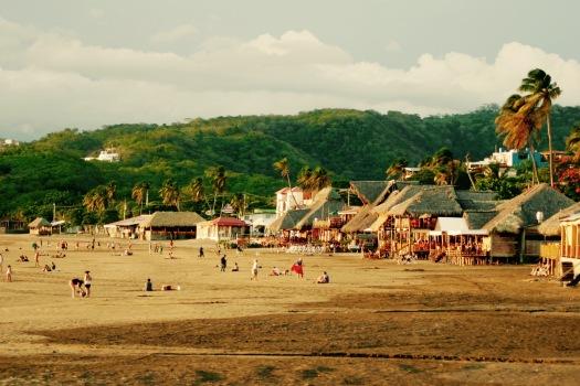 Strand in San Juan del Sur