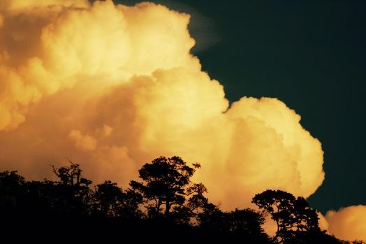 Riesige Wolken in San Juan del Sur