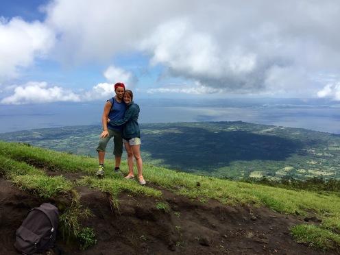 Wir haben es auf den Concepcion Vulkan geschafft
