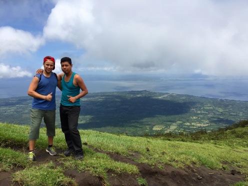 Auf dem Vulkan Concepcion auf Ometepe