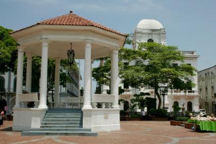Im Zetrum Panama Stadts: Altstadt Casco Viejo